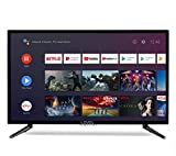 Level 32' Android 9.0 Smart TV 81 cm HD LED TV (Google Assistant, Google Play Store, Prime Video, Netflix) Chromecast integrado, triple sintonizador, WiFi, Bluetooth [Clase energética A]