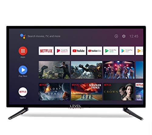 Level 32  Android 9.0 Smart TV 81cm HD LED TV (Google Assistant, Google Play Store, Prime Video, Netflix) Chromecast integrato, Triplo Tuner, Wi-Fi, Bluetooth [classe energetica A]