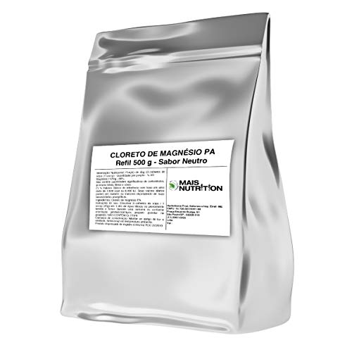 Cloreto de Magnesio PA 500g 500 gramas Puro Mais Nutrition