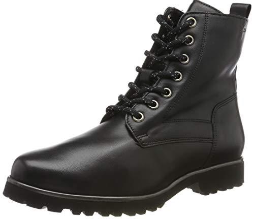 Sioux Damen Meredith-711-Wf-XL Biker Boots, Schwarz (Schwarz 000), 38 EU