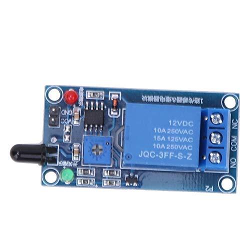 火炎検知センサーモジュール12VDC 760〜1100nm火災検知モジュール赤外線受信モジュール