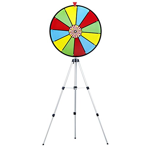 """MIDWAY MONSTERS 24"""" Color Dry Erase Prize Wheel with Stand"""