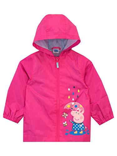 Peppa Pig Impermeable para niñas Rosa 2-3 Años
