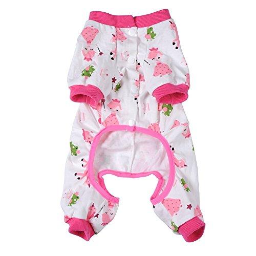Pet Dog Clothes Pajamas Coat Jumpsu…