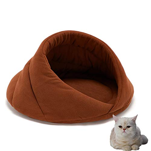 WWWRL Cat Bed House,Warming Comfortable Cat Nest Washable Cat House For Small And Medium Dog Cat Sleeping,Lightweight And Portable,Give Pets A Warm And Comfortable Environment