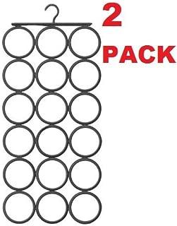 Ikea Hanger Scarfs Shawls Ties Belts Gray (2 Pack)