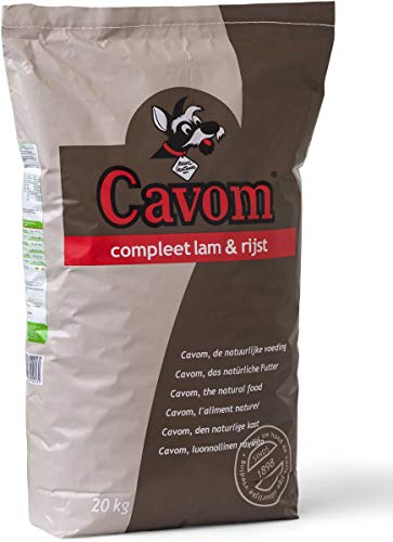20 KG Cavom compleet lam/rijst hondenvoer