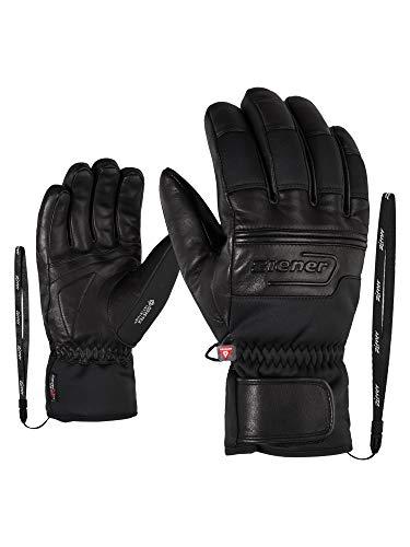 Ziener Herren GIPPO GTX INF PR Ski-Handschuhe/Wintersport | Sehr Warm, Atmungsaktiv, Primaloft, Soft-Shell, Black, 9,5