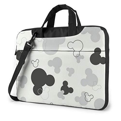 Mickey Mouse Laptop Bag Business Briefcase for Men Women, Shoulder Messenger Laptop Sleeve Case Carrying Bag- 15.6 Inch