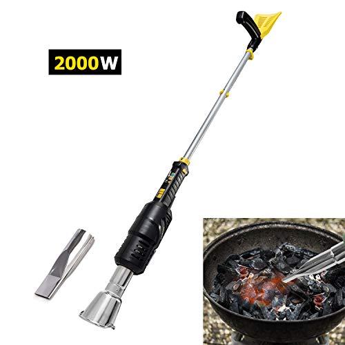 kukumax Diserbante Bruciatore Elettrico -2000W palmare Giardino Elettrico Termo e Accendino Elettrico BBQ Fino a 600 Gradi