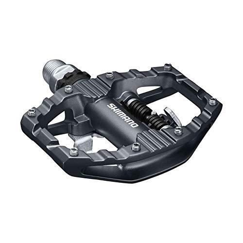 Shimano Unisex– Erwachsene Fahrradpedale-2091881300 Fahrradpedale, schwarz, One Size