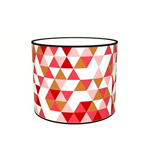 Abat-jours 7111308351022 Imprimé Franck Lampadaire, Tissus/PVC, Multicolore