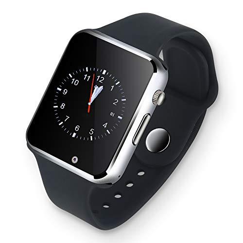 Gaeirt Reloj Inteligente, Reloj con batería de Gran Capacidad con recordatorio de Llamadas y SMS para Deportes para Todas Las Edades