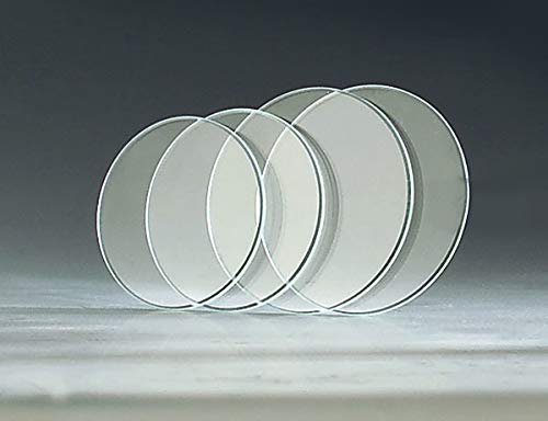 Retox Uhren - Gläser, 100 Stück, 25-40 mm, je größe 5 Stück, plangeschliffen