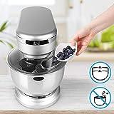 Duronic SM104 Elektrisch Küchenmaschine | Knetmaschine 1000W | 4 L Rührschüssel mit Spritzschutz | 6 Geschwindigkeiten und Pulsfunktion - 5