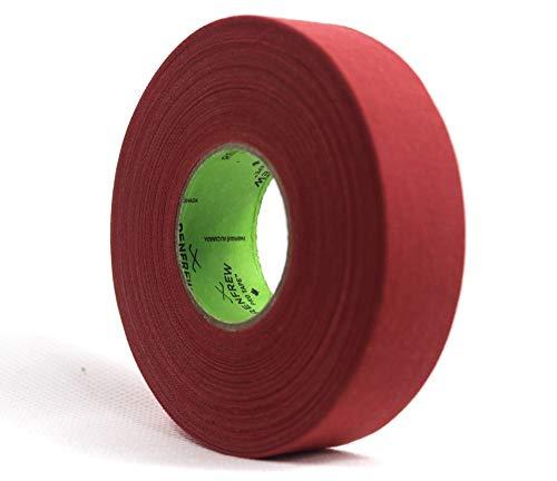 Renfrew Schlägertape Pro Balde Cloth farbig Hockey Tape, je 24mmx25m (rot)