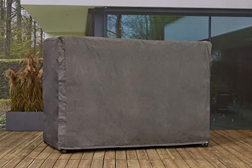 Mandalika Garden Atmungsaktive, frostbeständige und wasserdichte Schutzhülle Premium 5091 Askim, für eine Hollywoodschaukel, 246 x 134 x 165 cm