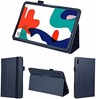 wisers 保護フィルム・タッチペン付き MatePad BAH3-L09 BAH3-W09 10.4 インチ Huawei ファーウェイ タブレット ケース カバー [2020 年 新型] ダークブルー