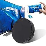 ASHATA Adattatore di visualizzazione HDMI Wireless, Adattatore di dongle Display Wireless Dongle HDMI Adattatore di mirroring Ricevitore Wireless Display WiFi, per la Formazione Aziendale Home (5G)