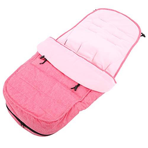 Saco de dormir infantil de 82 cm para niños de 0 a 6 años(Pink sleeping bag (with bare feet))