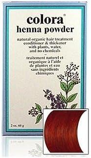 Natural Henna Hair Coloring Powder, Mahogany; 2oz