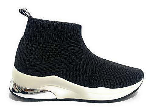 Scarpe Donna Sneaker calzino Liu-Jo MOD. Karlie in Tessuto Elasticizzato Nero DS20LJ04