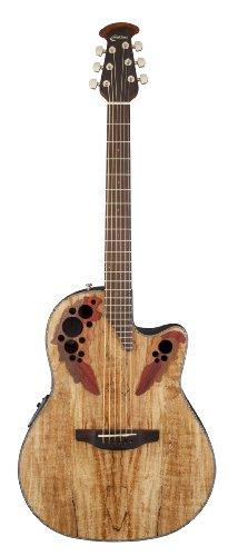 Ovation E-Akustikgitarre Celebrity Elite Plus Mid Cutaway CE 44 P-SM