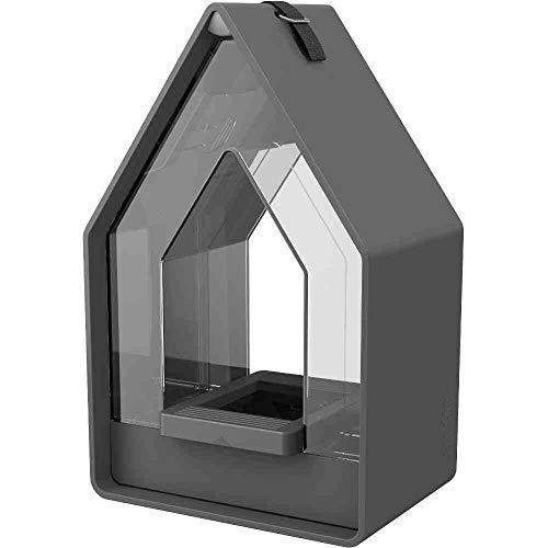 Landhaus Futtersilo 15x10x24cm granit