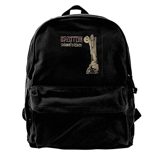 huatongxin Stairway to Heaven Hermit Punk Rock Vintage Unisex Casual Canvas Backpack Laptop Bag/Business Backpacks/School Backpack/Travel Backpack