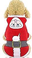 ペット猫コスチューム衣料品、赤、Lのための快適な犬のコスチュームクラシックストライプペットの猫服猫夏の犬猫のベストシャツ服スーツグッズ (色 : Red Belt, サイズ : M)