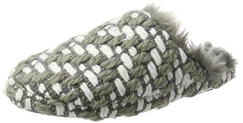 ESPRIT Damen Knitty Mule Pantoffeln, Weiß (Off White), 39 EU