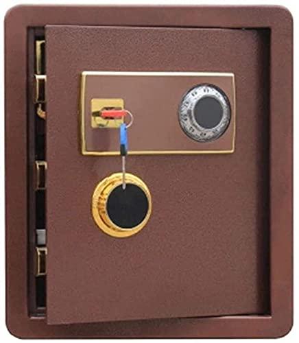 CXSMKP Caja fuerteCaja de Seguridad, tecla de contraseña de Acero mecánico Anti-Robo, Utilizado en la Oficina en casa para almacenar Objetos de Valor en Efectivo Smart Home Safe