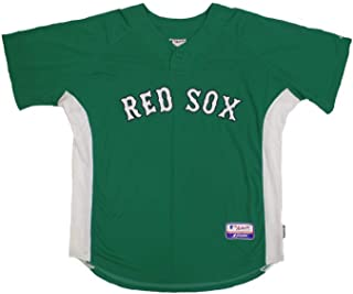 Jacoby Ellsbury #46 Boston Red Sox St. Pattys Patrick's Day Authentic Kelly Green Batting Practice Jersey