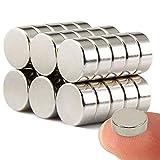 Wukong Imanes de nevera de cilindro de neodimio N52 (30 piezas) multiusos Junta...