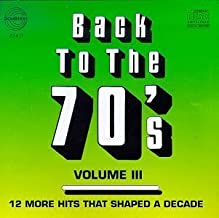 Back to the 70's 3 by Various Artists (1993-11-09)