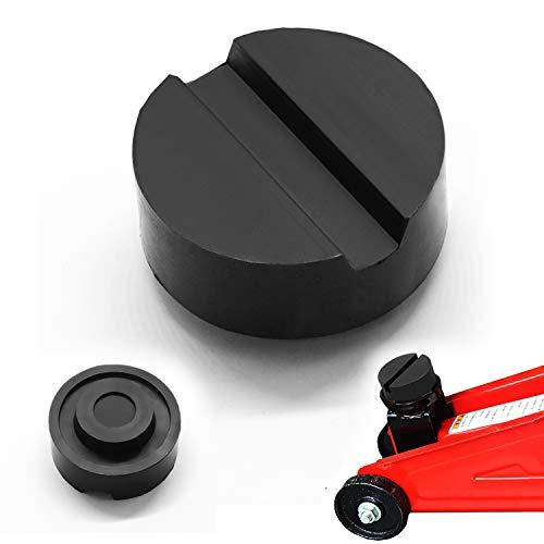 CXG Wagenheber Gummiauflage, Universelle Gummiauflage für Hydraulischer Rangierwagenheber und Hebebühnen, Gummi Jack Pad für Tuning Schützt Auto SUV PKW LKW vor Kratzern