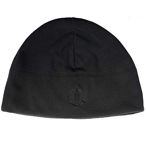 Orca Tactical Fleece Watch Cap Military Beanie Hat Unisex, One Size (Black)