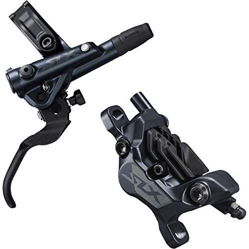 SHIMANO SLX BL-M7100/BR-M7100 Disc Brake and Lever - Rear, Hydraulic, Post Mount, 2-Piston, Black