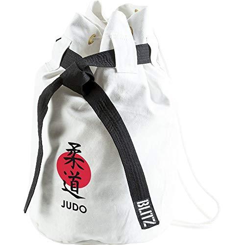 Blitz - Bolsa de Viaje para Judo, Color Blanco