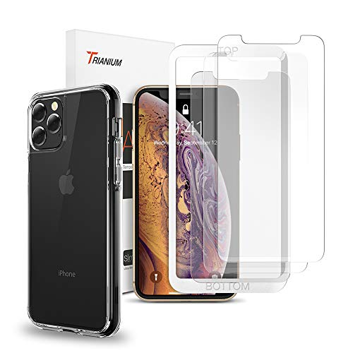 Trianium Case and 3 Pack Screen Protector for iPhone 11 Pro