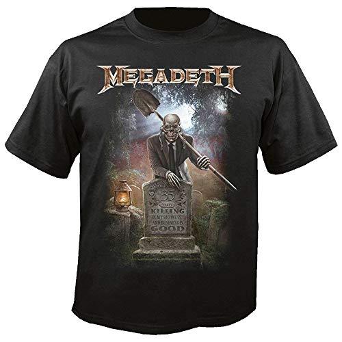 Megadeth - Camiseta - Manga Corta - Hombre