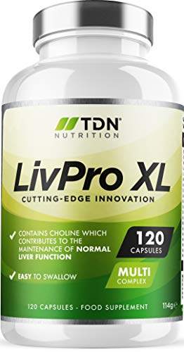 Liver Pro - 120 Capsules - UK Made Liver Support Supplement - Liver Tablets - 15x Natural Active Ingredients - Massive 8 Week Supply - Premium Quality