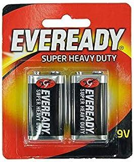 Eveready Super Heavy Duty 9v Battery (Pack of 2 pcs)
