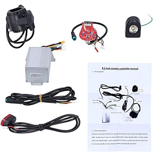 Gaeirt Controlador de Scooter, Controlador de monopatín Estable, aleación de Aluminio Suave, Alta sensibilidad para Scooters eléctricos de 8.5 Pulgadas