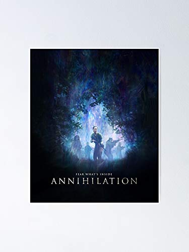 MCTEL Annihilation Poster 11.7x16.5 Inch Frame Board for Office Decor, Best Gift Dad Mom Grandmother and Your Friends