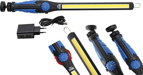 BGS 6660 | COB-LED-Arbeits-Handleuchte | LED Kaltweiß & Gelb | ultra flach