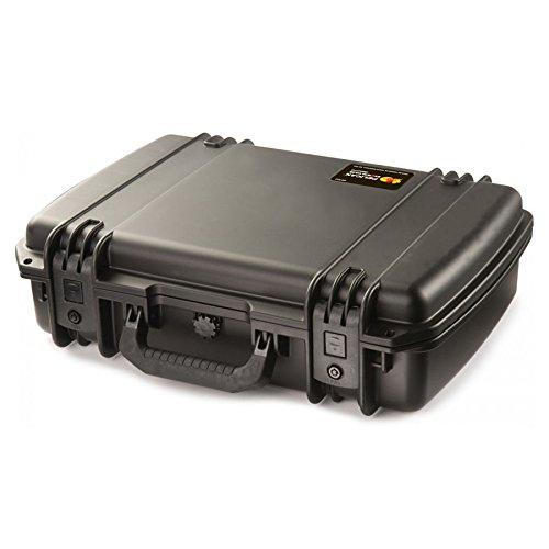PELI Storm IM2370 valise antichoc pour ordinateur portable avec plateau et organisateur de couvercle, étanche à l'eau et à la poussière, capacité de19L, fabriquée aux États-Unis, couleur: noire