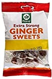 FITZROY - Bolsa de dulces de jengibre extra fuerte (100 g), diseño de caramelo del Reino ...