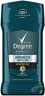 Degree Sport Defense Advanced Protection Antiperspirant Deodorant Stick, 2.7 oz (Pack of 8)