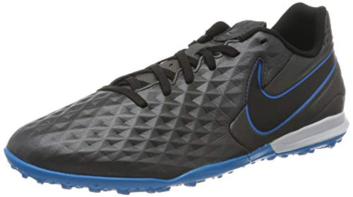 Nike Mens Legend 8 Academy TF Turf Football Trainers, Black, 44.5 EU